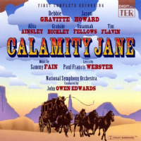 Calamity Jane Studio Cast Double CD
